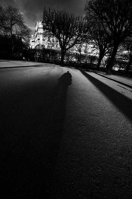 L'homme dans l'ombre