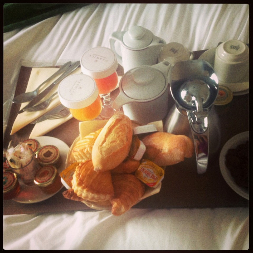Room service Monsieur-Dame !