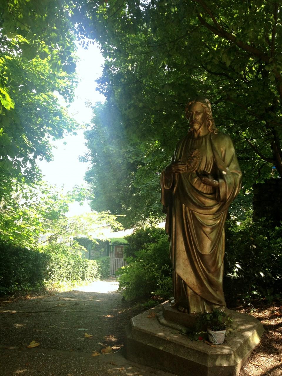 Les jardins de la basilique de Fourvière