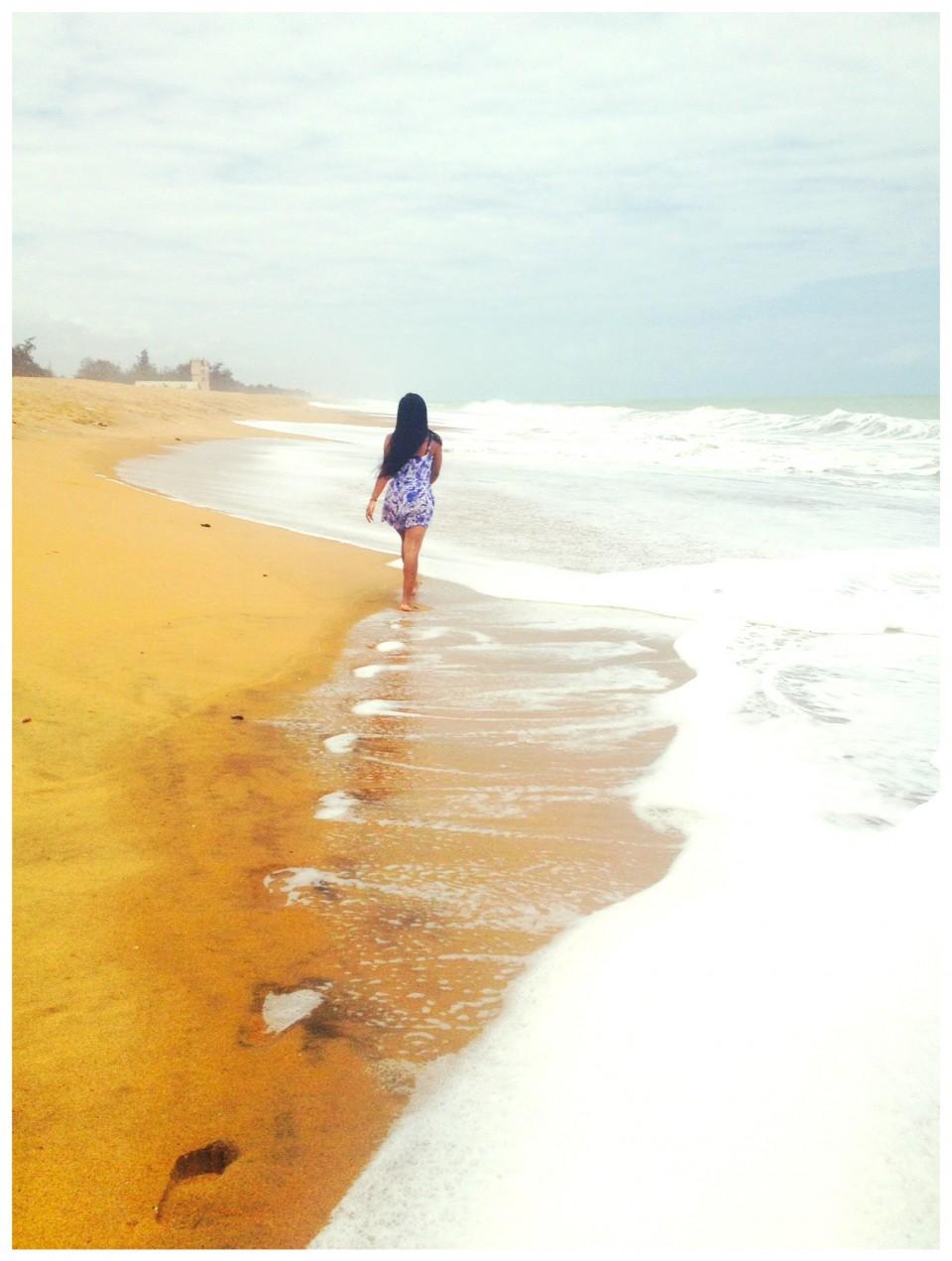 Cerise et l'océan