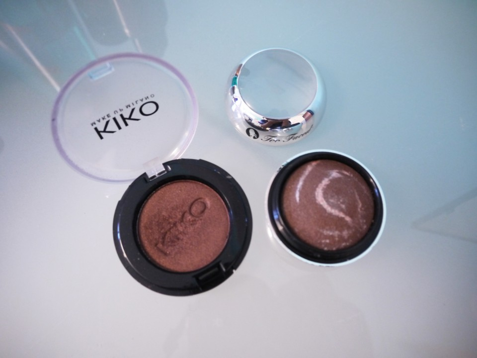 fard brun kiko too faced