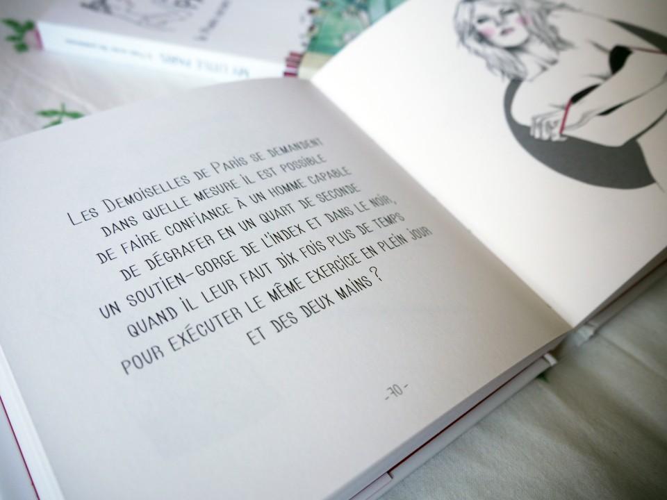 -Les Demoiselles de Paris mettent les points sur les i par Aurélie Antolini  et  Carole Wilmet