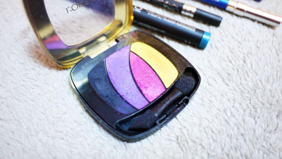 smokey bleu loreal palette color riche les ombres
