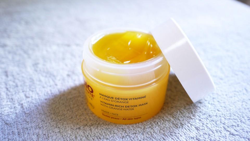 Masque détox vitaminé à l'eau d'orange Bio Beauté Nuxe