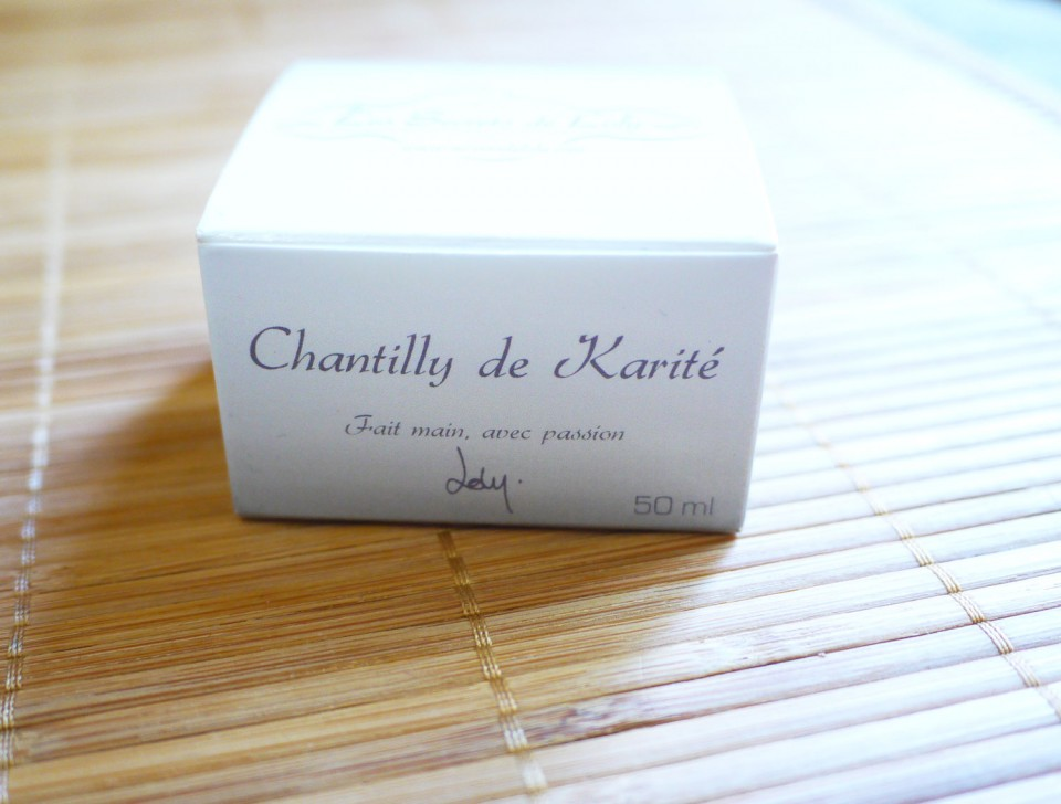 chantily de karité secret de loly