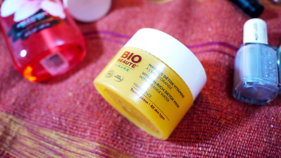 -Masque vitaminée à la fleur d'oranger