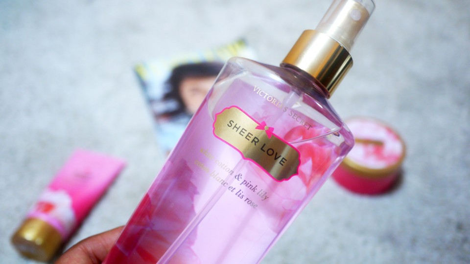 sheer love victoria's secret