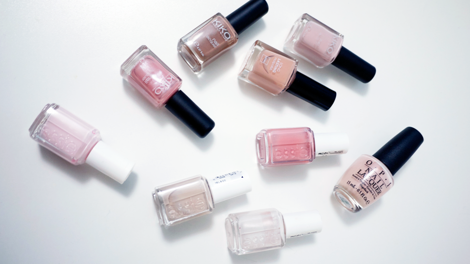 Vernis nude hiver