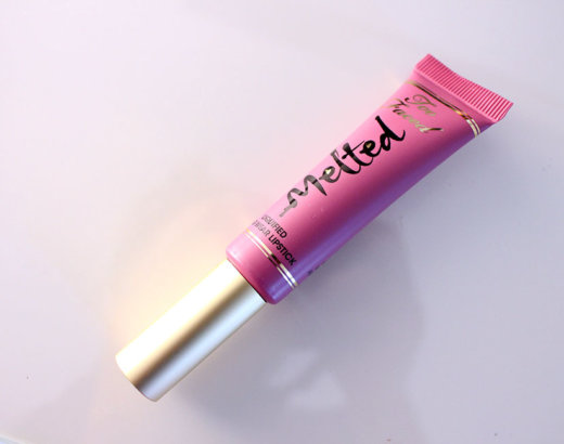 Melted de Too Faced, le lipstick « pas mal »
