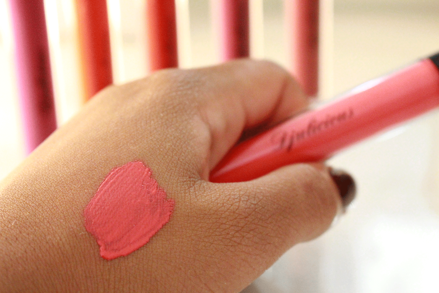 Vinyl Lip Lacquer by Djulicious  AMbitious