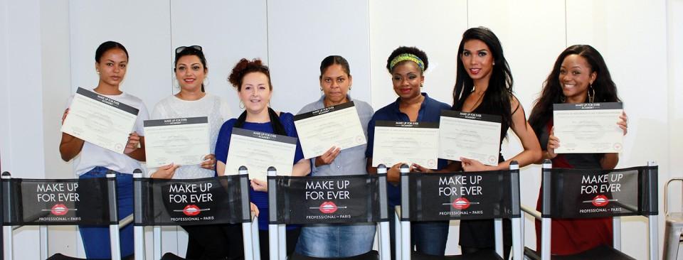 Formation BLACK BEAUTY par la Make Up For Ever Academy