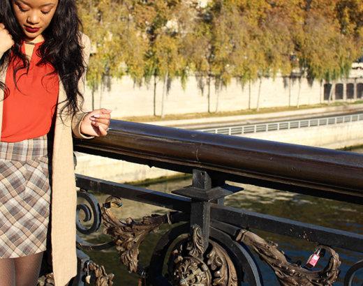 Lumière d'automne sur le Pont Notre-Dame