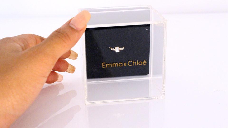 coffret à bijoux Emma et Chloé
