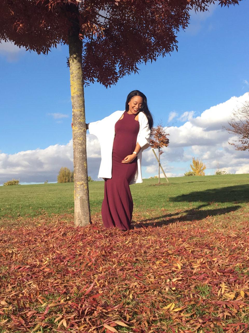 cerise enceinte grossesse maternité